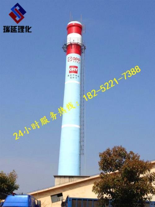 潮州砖烟囱休息平台防腐公司/欢迎访问