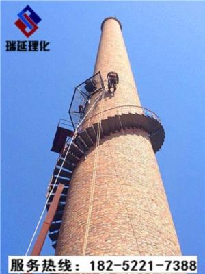 钢烟囱爬梯走台防腐公司:欢迎访问