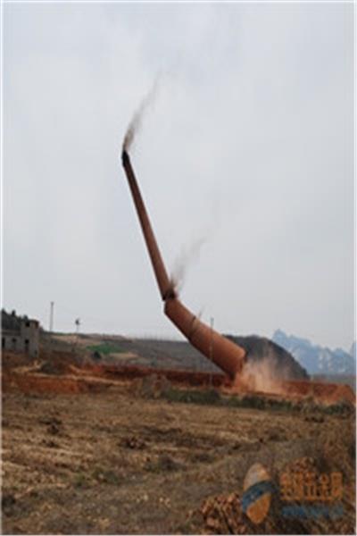 陇南拆除烟囱施工队