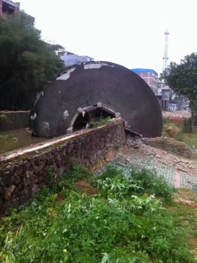 沧州砖混烟囱拆除公司