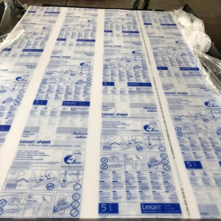LEXAN 9030 普通透明pc板材 设备观察窗