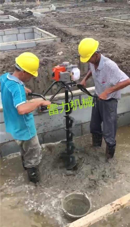 自来水管道横向钻孔机