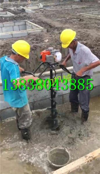 小型挖桩芯掏土机