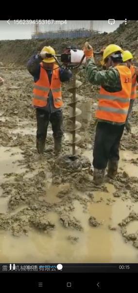 管桩掏土机工地用更安全