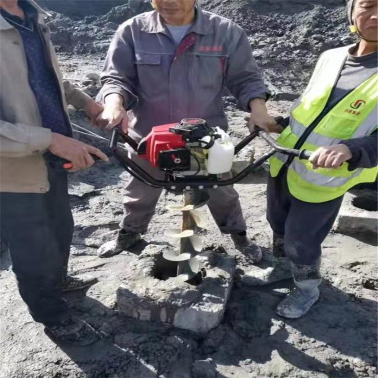 钻桩掏土机清管道孔灵活耐用
