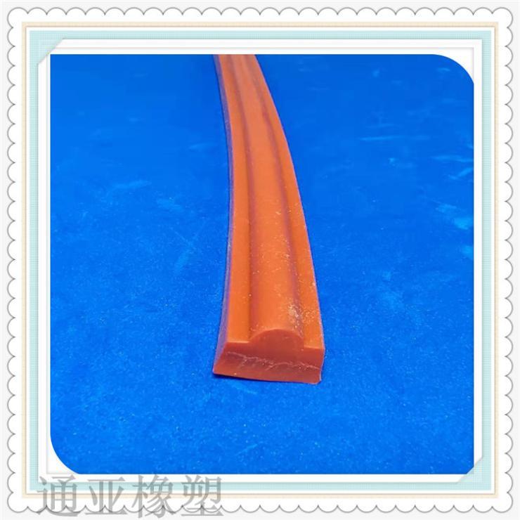 模框密封条T型模框条橡塑PVC防火透明条各种橡胶条