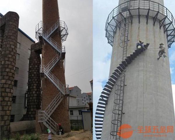随州【烟囱安装旋转梯】【爬梯】施工单位专业安装