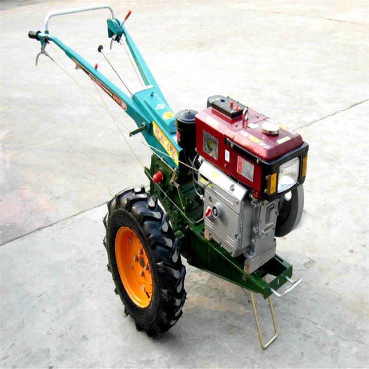 农用多功能手扶犁地打田机