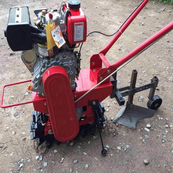 大棚果园小型耕地机 小型松土机田园旋耕培土机