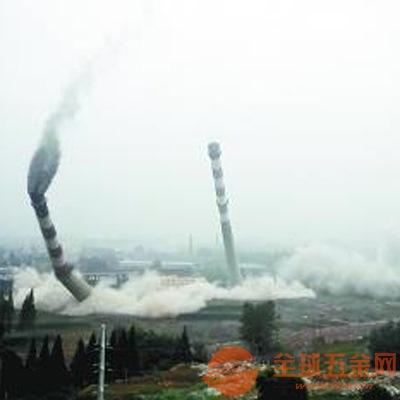 焦作市烟囱拆除专业施工单位