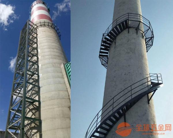孝感烟囱爬梯平台维修加固施工单位全国施工
