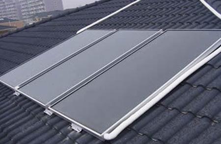 别墅太阳能采暖与太阳能热水器工程