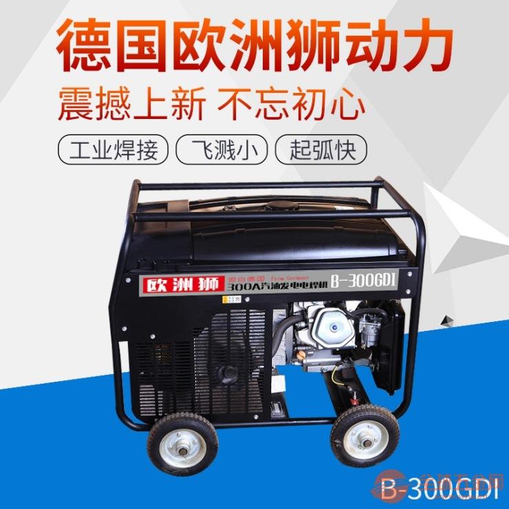 德国欧洲狮300A汽油发电电焊机