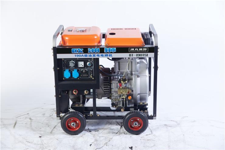 柴油發電電焊機190a
