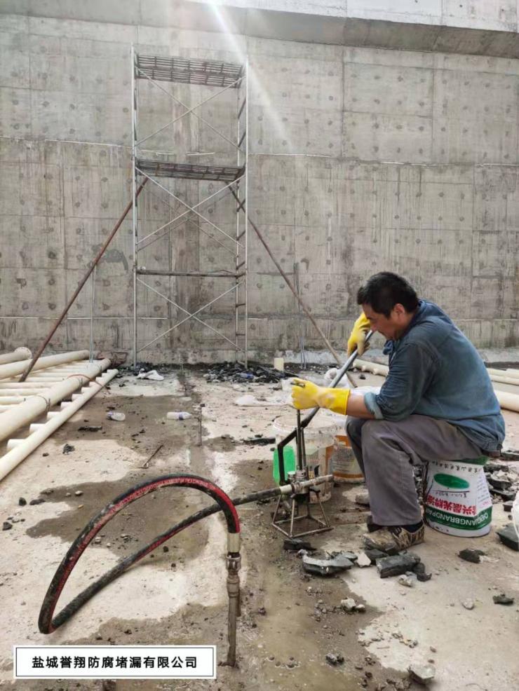 淮安市消防水池带水高压注浆堵漏技术和诀窍