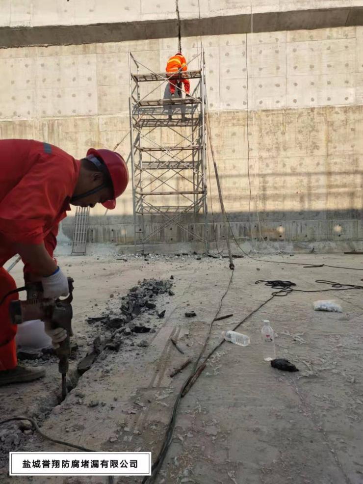 咸阳市水池马蜂窝带水高压注浆堵漏