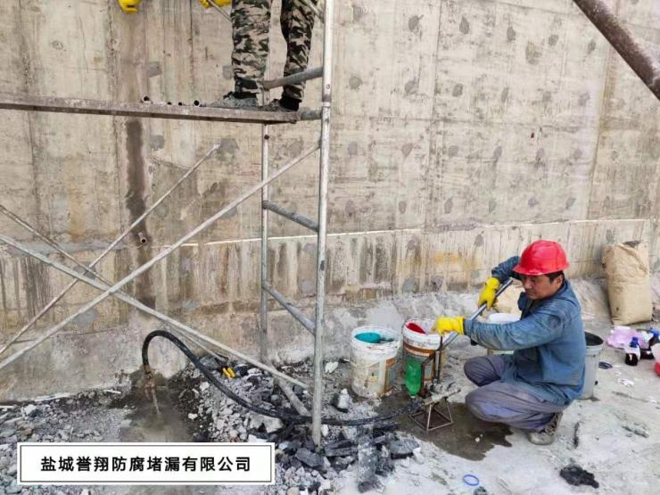 秦皇岛市污水池止水带伸缩缝漏水怎样堵漏
