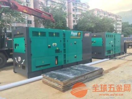 武汉静音发电机组出租-武汉展会发电机-武汉发电车出租