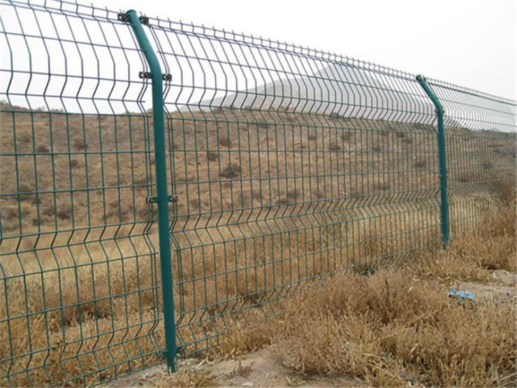 园林景观护栏网 圈地双边丝简易护栏网 镀锌护栏网直销
