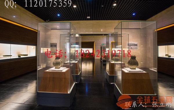 博物馆展示柜道具制作生产厂家-批发直销商厂家