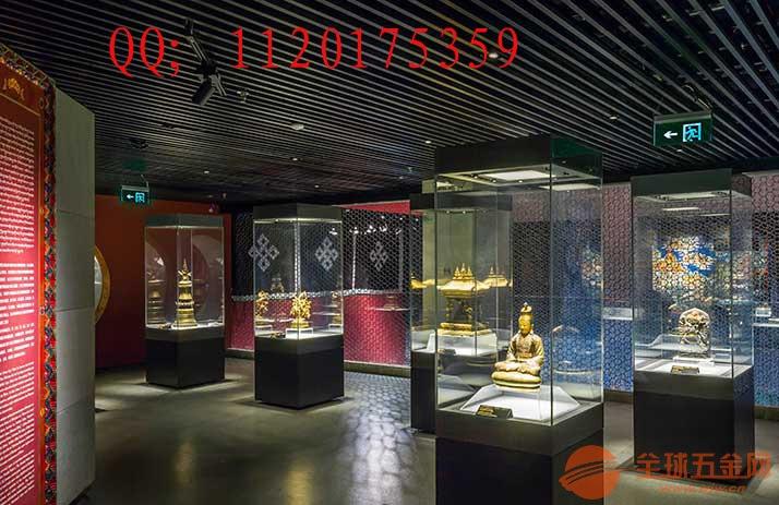 深圳博物馆展柜-文物展馆-智能金属博物馆展柜厂家