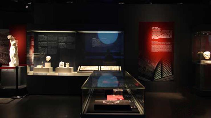 文物展馆 博物馆展柜厂家高品质打造展柜 优质服务
