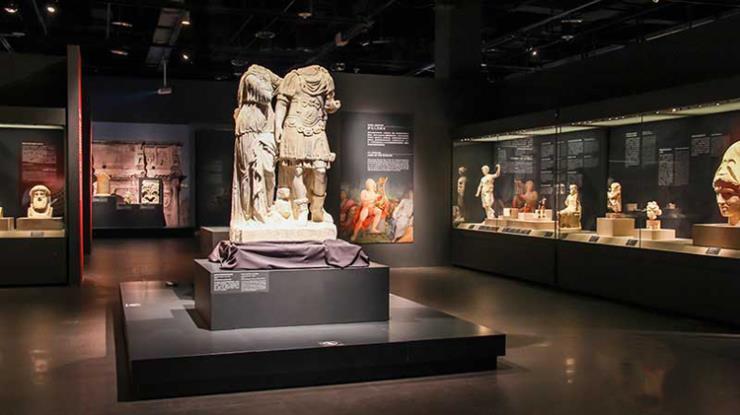 文物博物馆展柜 博物馆展馆 展柜安装维护
