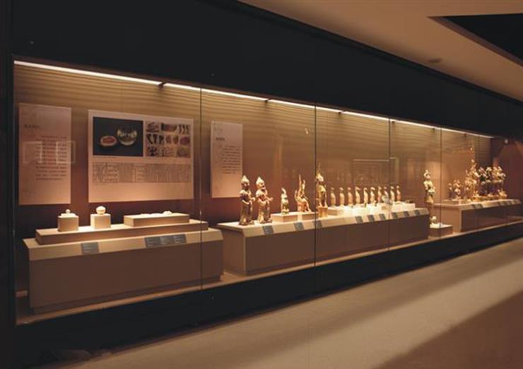 制作博物馆展柜厂家配置电动开门 遥控平移升降侧开斜翻