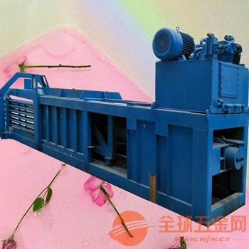 溧水100吨编织袋卧式液压打包机