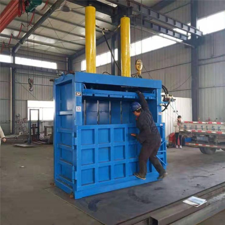 襄阳热销产品废油桶压扁打包机