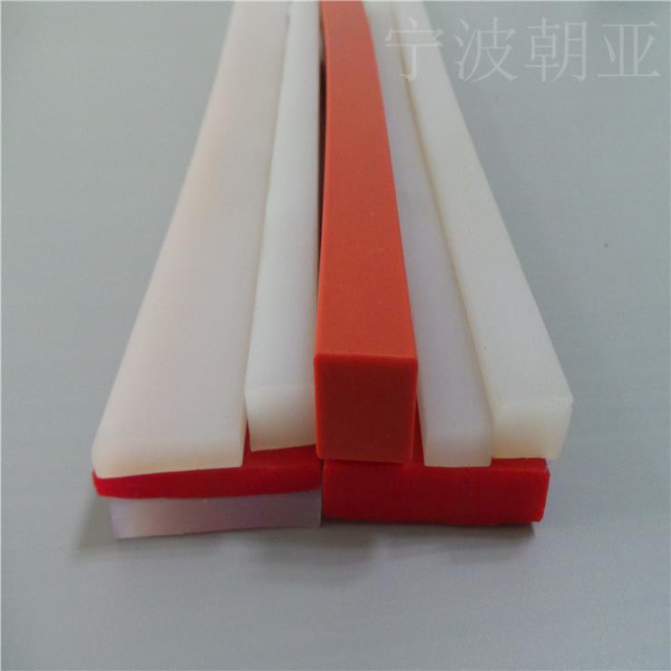 彩色耐高温实心硅胶密封条