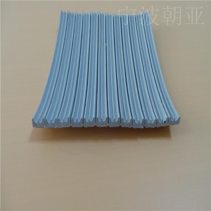 硅胶丙橡胶平板彩色波浪型密封条