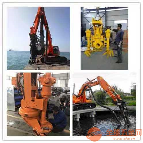 挖机吸沙泵-抽沙设备齐全_液压清淤泵价格