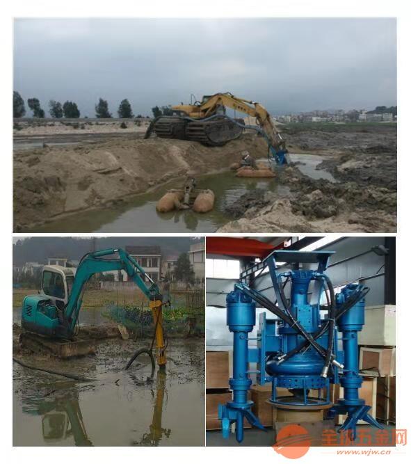 淤泥清理杂质泵铰刀绞吸污水泵质量优