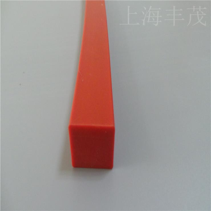 厂家直销硅胶矩形密封条 耐高温