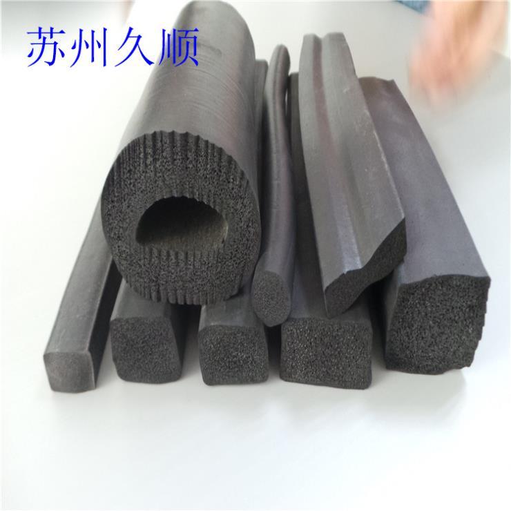 铁路橡胶垫阻燃发泡条密封条