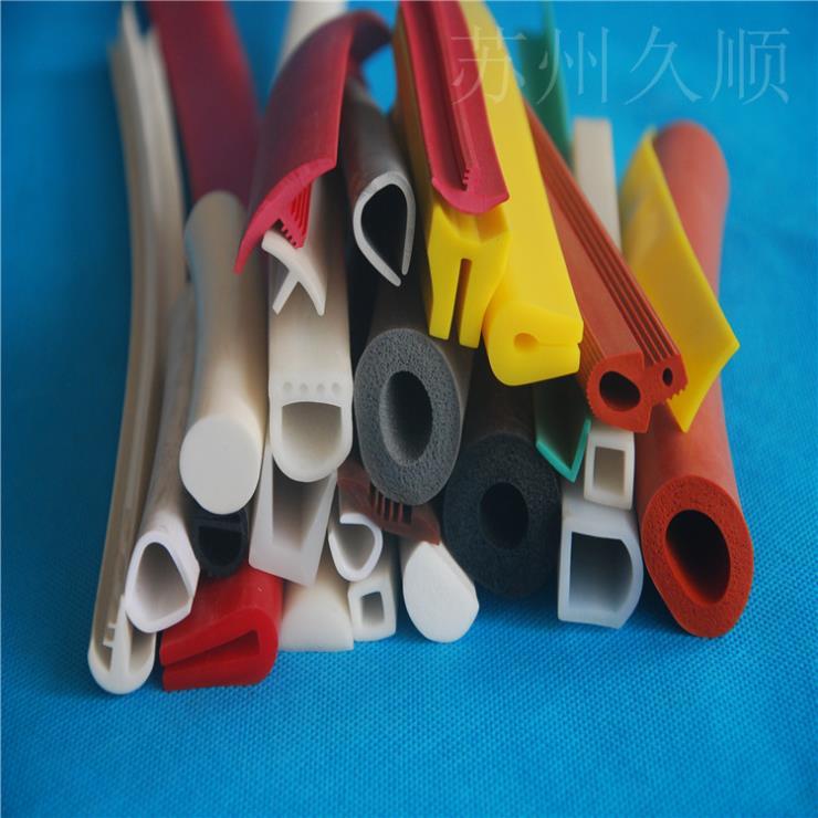 环保门彩色机械硅胶密封条