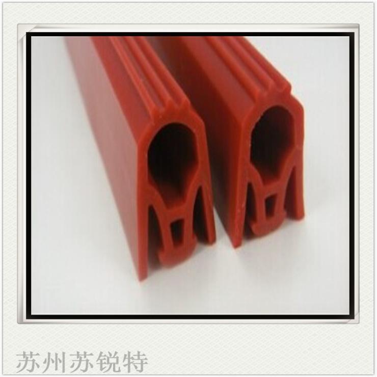 实心硅胶挤出密封条订做耐高温防撞O型硅胶密封条