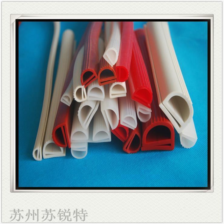 供应硅胶耐高温e型彩色密封条