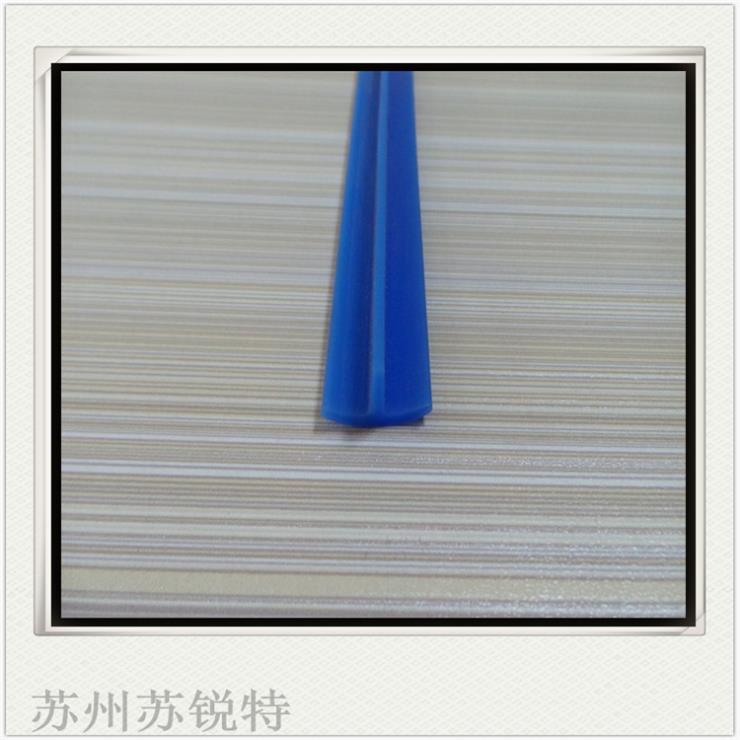 蓝色硅胶T型密实密封条