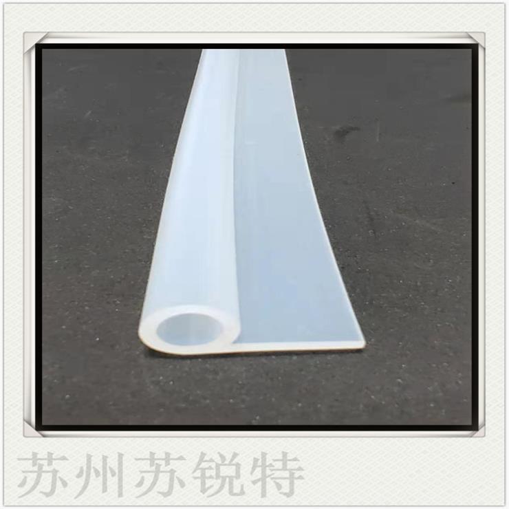 白色硅胶P型密实密封条