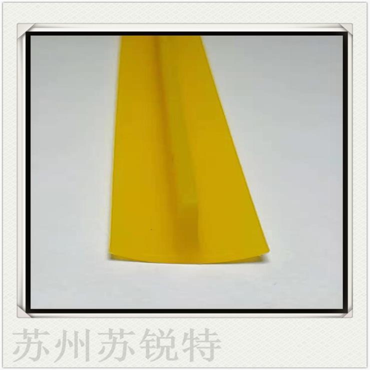 黄色硅胶T型密实耐高温密封条