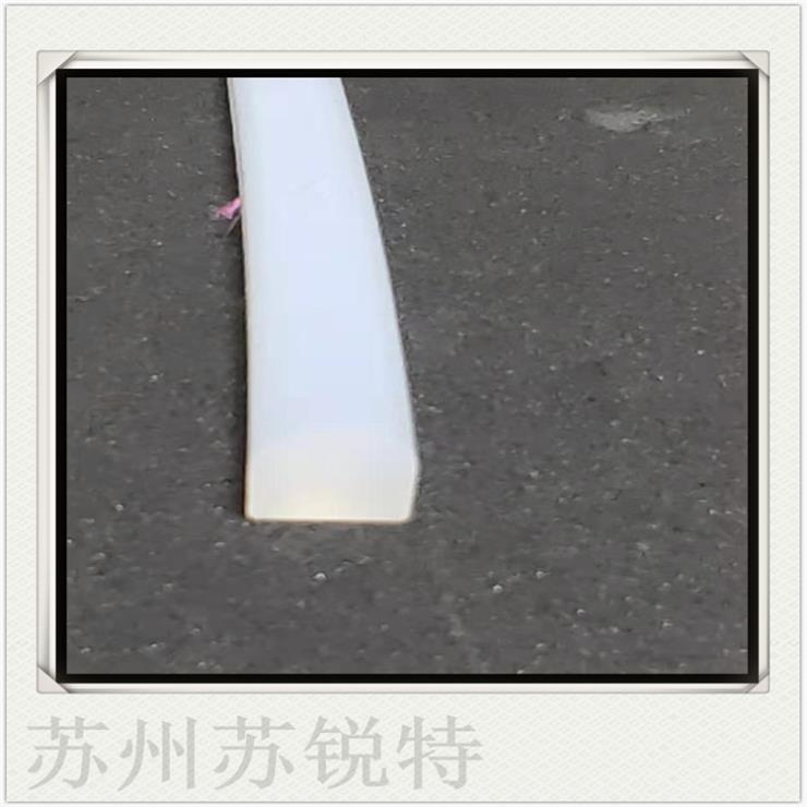 白色硅胶矩形起泡防尘耐高温密封条