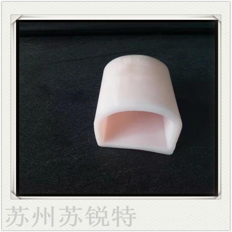 白色硅胶D型密实密封条