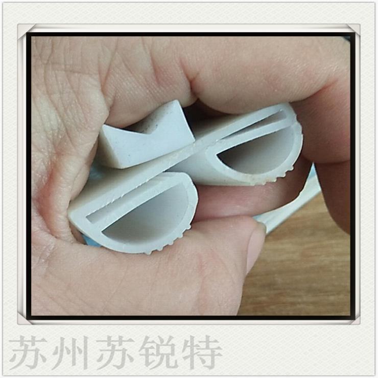 白色硅胶B型密实密封条