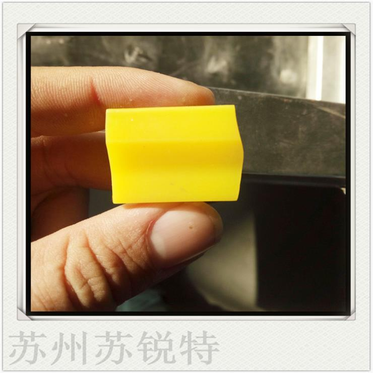 黄色硅胶方形密实密封条