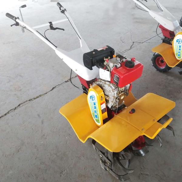 小型土壤耕整机械微耕机四驱后旋微耕机