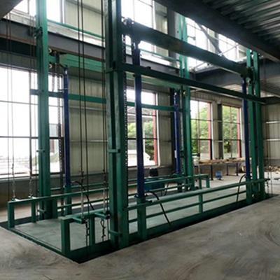 郑州3吨导轨式升降货梯哪里有卖的
