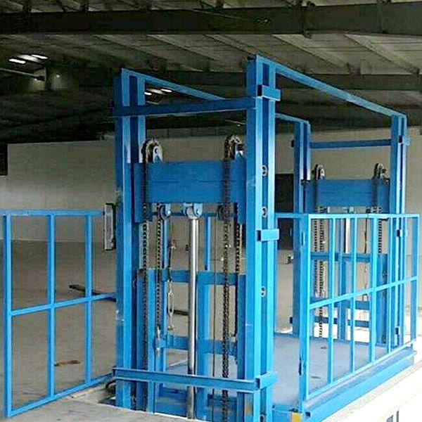 鏈條導軌式液壓升降貨梯