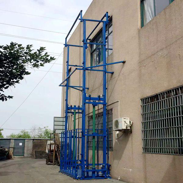 江阴链条导轨式液压升降货梯